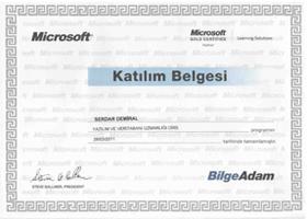 Bilgeadam_Yazilim_Uzmanligi_Microsoft_Katilim_Sertifikasi